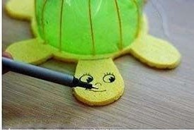 черепаха из бутылки