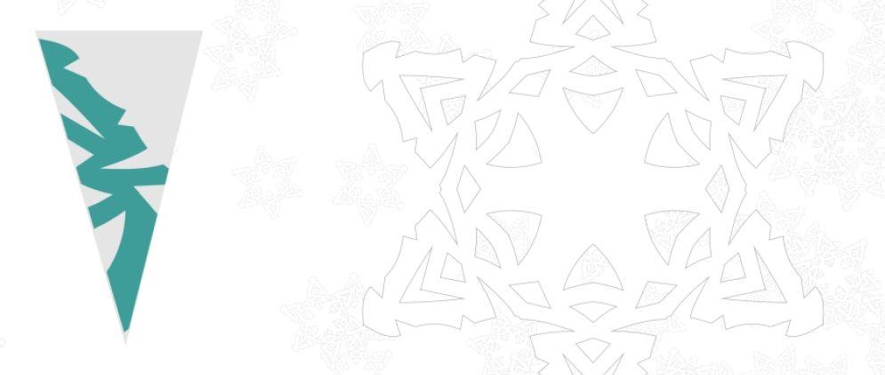 распечатать схемы снежинок