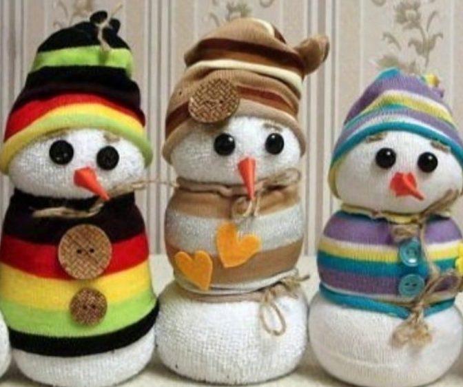 зимние поделки с ребенком